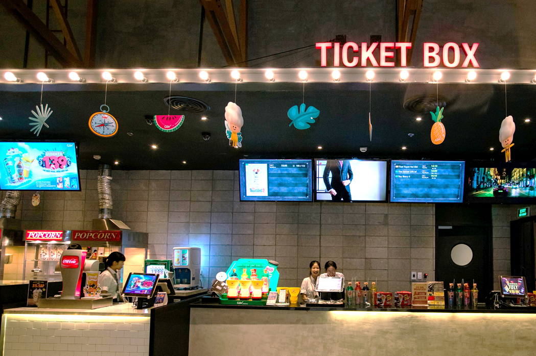 Digital Signage for Movie Theaters